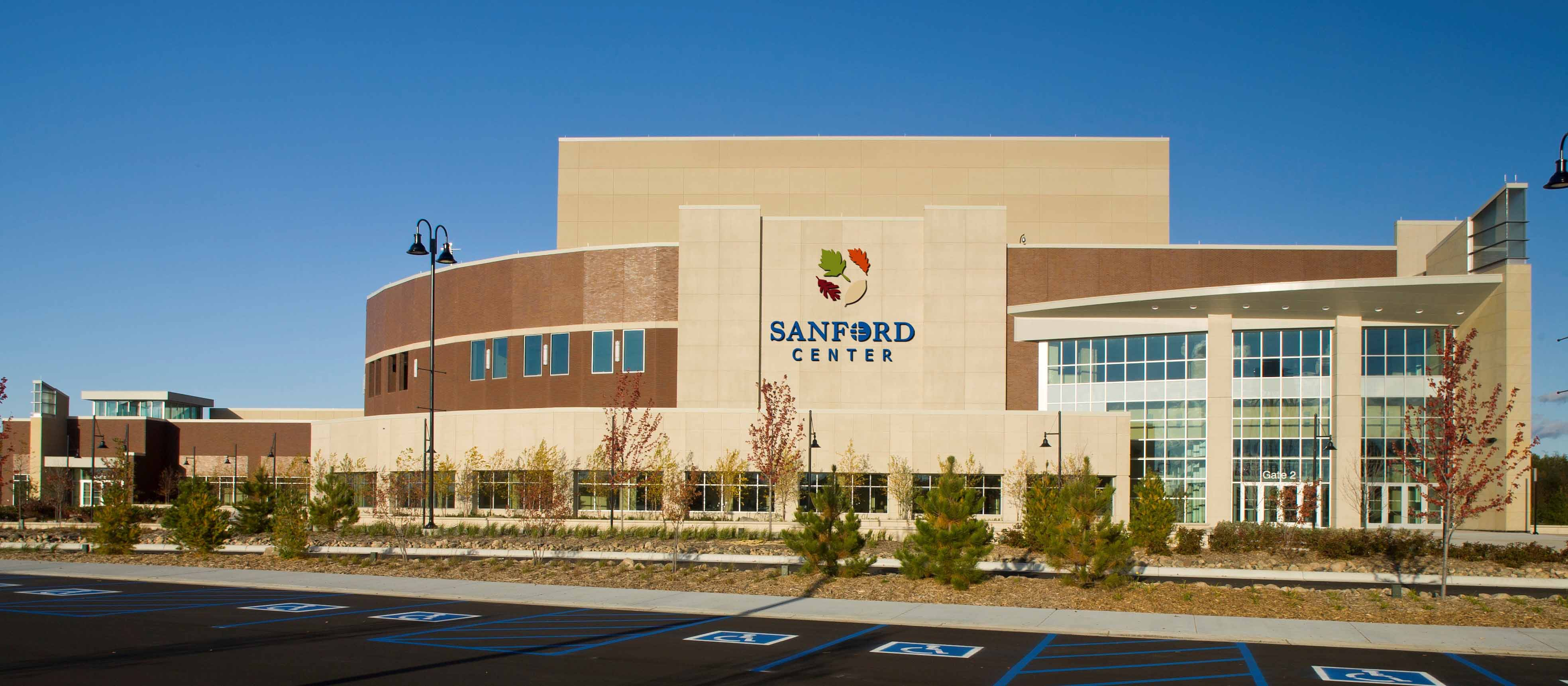 Sanford Center for events and conventions