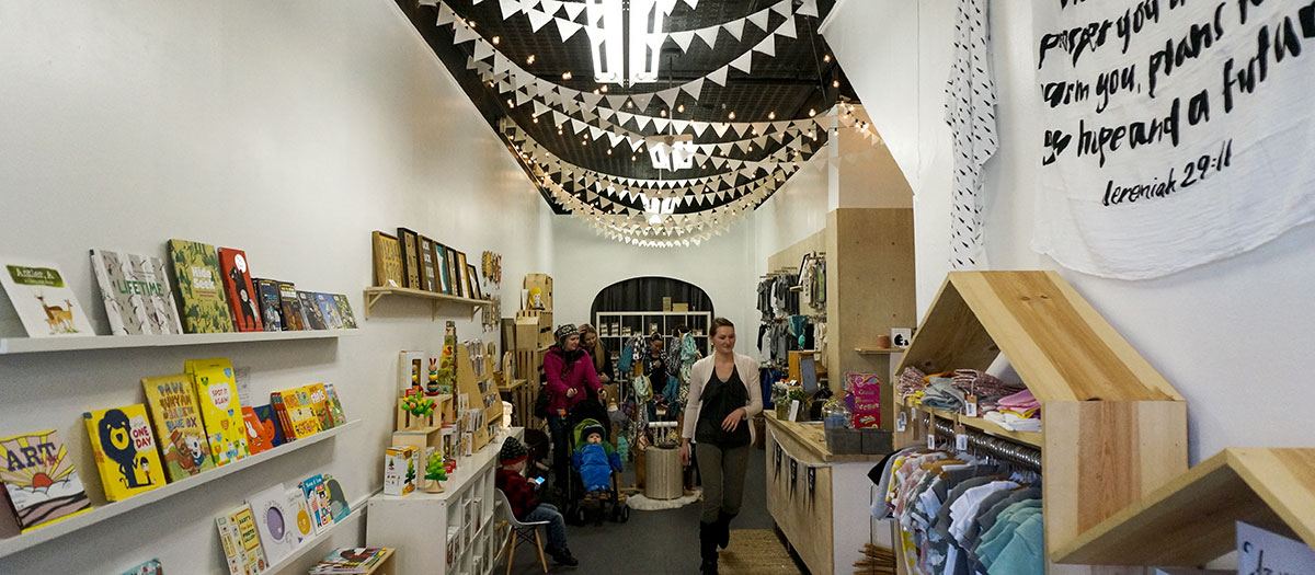 The Fort, child and baby boutique